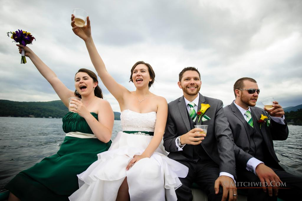 Bolton Landing wedding photographer